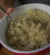 Quinoa & Apple- this could be a good substitute for breakfast oatmeal!