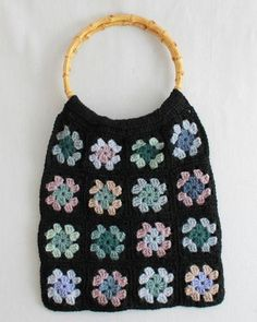 Picture of Granny Square Scrap Purse Pattern