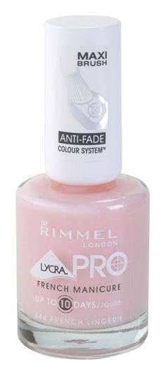 Rimmel Lycra Pro French Manicure esmalte de uñas con lycra
