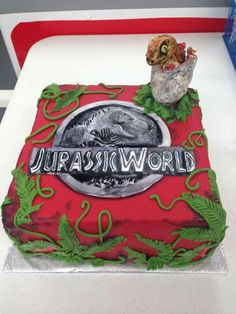 Jurassic park cake - For all your cake decorating supplies ...