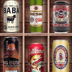 #BeerCanAppreciation Day makes us #thirsty. Props to Great Raft Brewing, Coors Banquet, Modern Times Beer, Uinta Brewing, Sixpoint Brewery, Fremont Brewing, and Golden Road Brewing for can design that catches our eye. http://www.pinterest.com/pin/293648838178892874/ #Fontspiration #Creative #Design #Graphics #TheBeerNation #BeerMe