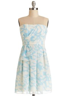 Flying Fancy Dress, #ModCloth. I like the gather on this dress. Maybe in a different color though.