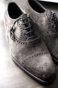Cap Toe Suede Shoes........ Gentleman Style 286bd37ed