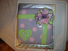 My eldest daughters 16th birthday cake