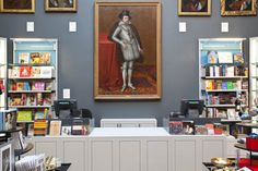 Dulwich Picture Gallery Shop #dulwichpicturegallery #art #gallery #dulwich #paintings #sirjohnsoane #exhibition #retaildesign