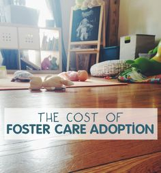 the cost of foster care adoption - little things + big stuff