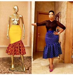 Flaring South African Traditional Dresses For Women 2019 African Print Skirt, African Print Dresses, African Fashion Dresses, African Dress, Ankara Fashion, African Attire, African Wear, African Women, Latest Gown Styles