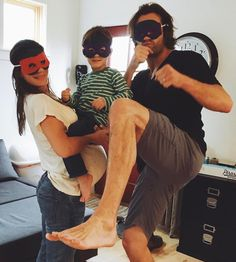 "40.2k Likes, 789 Comments - Genevieve Padalecki (@nowandgen) on Instagram: ""Ninja kicking our way through Monday. Just an average day with the Padaleckis! """