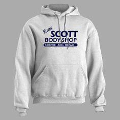 KEITH SCOTT Body Shop - Hoodie hooded sweatshirt auto repair on Etsy, $19.99