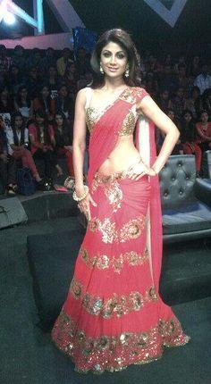 Shilpa Shetty in Manish Malhotra.