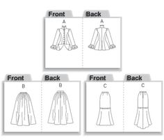 Victorian/Edwardian Pattern Jacket Pattern by ErikasChiquis