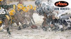 Ariens Snow Moments: Snowy games in Packers history