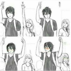 She just found her soulmate, what do you mean short people problems?<<< that's really cute! Short People Problems, Short Girl Problems, Short Girl Memes, Short People Quotes, Cute Comics, Funny Comics, Couples Comics, Cute Stories, Cute Anime Couples