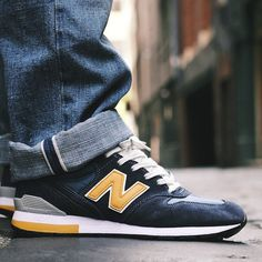 Mens New Balance 996 with RevLite sole. Suede and leather upper.
