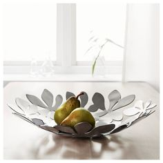 IKEA STOCKHOLM bowl Stainless steel; gives the bowl weight and extra stability.