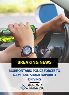 More Ontario Police Forces To Name And Shame Impaired Driving Toronto Star, Personal Injury Lawyer, Current News, Ontario, Police, It Hurts, Names, Law Enforcement