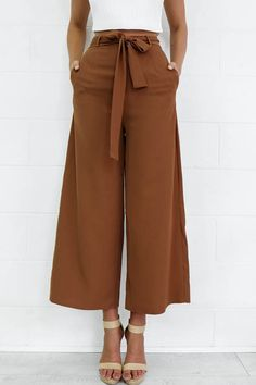 New spring brown black loose casual ankle-length pants england style Fashion Pants, Fashion Outfits, Womens Fashion, Female Fashion, Dress Fashion, Fashion Trends, Sneakers Outfit Work, Casual Sneakers, Moda Afro