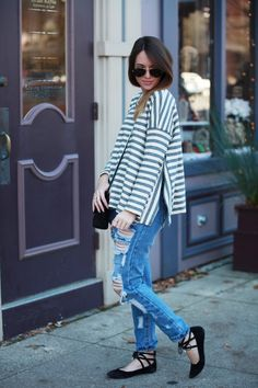 Relaxed Stripes By Fashionably Kay