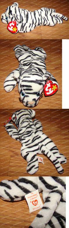 2b060e6899e Classic 1608  Blizzard The White Tiger (Ty Beanie Babies) P.V.C Pellets