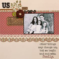 lily bee: We begin and end with family . . .
