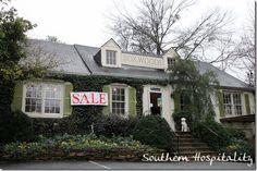 Southern Hospitality decorating blog