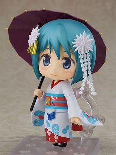 Puella Magi Madoka Magica the Movie - Sayaka Miki - Maiko Ver. - Nendoroid - Good Smile Company (Dez 2017)  - SD-Figuren / Nendoroids - Japanshrine