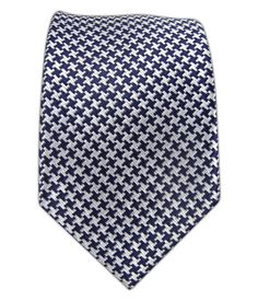 Big Tooth - Navy/White (Skinny) - Big Tooth - Navy/White (Skinny) Ties