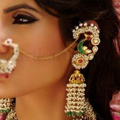 karnphool, jhumkas, indian jewellery, indian jewelry, artkarat, kundan jewellery, indian bridal jewelry, indian bridal jewelry