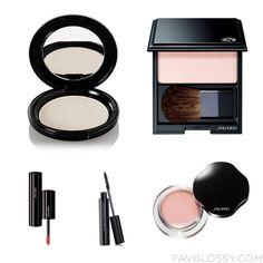 Makeup Set Including Shiseido Face Powder Shiseido Makeup Shiseido Eyeshadow And Mac Lipstick From September 2015 #beauty #makeup