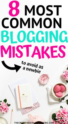 Are you new to blogging? Learn how to avoid some of the biggest blogging mistakes and find out the solutions you can use instead.