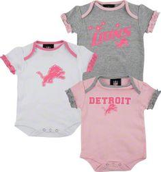 Detroit Lions Onesies