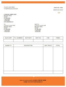 Sales Invoice Download At HttpWwwXltemplatesOrgSalesInvoice