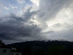 #stormy #clouds #chur #graubünden #calanda