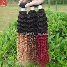 If you want to bring out the beauty of your crowning glory and emphasize your looks, it's really good that you start buying hair products such as hair color, Funky Hairstyles, Weave Hairstyles, Hair Weft, Hair Weaves, Blond, Extreme Hair Colors, Ombre Hair Weave, Ombre Human Hair Extensions, Glamour Hair