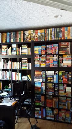 boomtron | Image | BoardGameGeek Board Game Cafe, Fun Board Games, Board Game Storage, Geek Games, Game Rooms, Playing Games, Store Displays, Table Games, Future House