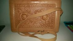 Completely new Tooled leather handbag Big handbag 3 big compartments with zip pockets Long leather strap with possibility to shorter Handbag is New Vintage Perfect condition Big Handbags, Leather Handbags, Tooled Leather, Leather Tooling, My Etsy Shop, Nice, Check, Vintage, Shopping