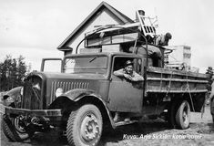 Citroën truck on evaquation job, Johannes, Carelia Finland, Antique Cars, Monster Trucks, Ford, Vehicles, Vintage Cars, Cars, Vehicle, Ford Expedition