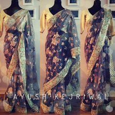 OPIUM Embellish shimmering net cocktail saree! What's not to like ? For purchases email me at  designerayushkejriwal@hotmail.com or what's app me on 00447840384707  We ship WORLDWIDE. #sarees#saris#indianclothes#womenwear #anarkalis #lengha #ethnicwear #fashion #ayushkejriwal#Bollywood #vogue #indiandesigners #handmade #britishasianfashion #instalove #desibride #bollywoodfashion #aashniandco #perniaspopupshop #style #indianbeauty #classy #instafashion #lakmefashionweek #indiancouture…