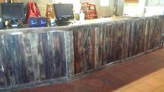 Bar wood bar that I built for a restaurant -  Barn Wood Furniture Union Grove, Alabama