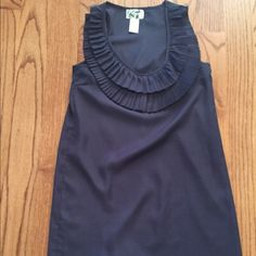 🎉Lowest!! Francesca's navy blue top or tunic Final price cut....This is the lowest I can go! Really cute top that looks great dressed up or down. I think it fits a lil snug,prob more like a small. Came from Francesca's. Comes from a smoke free home. Paraella Tops Blouses