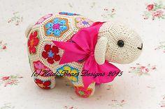 Ravelry: Shoop the African Flower Sheep pattern by Heidi Bears
