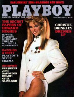 Christie Brinkley, Jose Napoleon Duarte, Vintage Playmates, Vintage Magazine, Robert Mapplethorpe, Hugh Hefner, Kim Basinger, Original Vintage, Movies