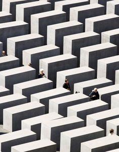 Denkmal für die ermordeten Juden Europas | Holocaust Memorial, #Berlin More information: visitBerlin.com