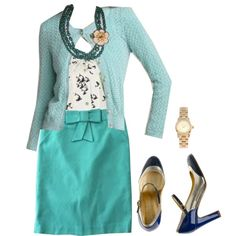Emma's Closet Blue by lilbailey on Polyvore featuring мода, Michael Kors, J.Crew, glee, emma's closet and emma pillsbury