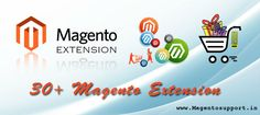 Magento Extension is a code that integrates with a platform to perform additional functions. Extensions, We developed by an authorized and skilled developer run flawlessly and deliver excellent results by Evince Magento Certified Developers.   http://www.magentosupport.in/Magento-Extensions