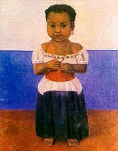 Girl with Coral Necklace | Diego Rivera