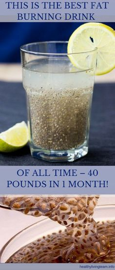 THIS IS THE BEST FAT BURNING DRINK OF ALL TIME – 40 POUNDS IN 1 MONTH!