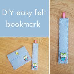 Felt Bookmark, Felt Purse, Fabric Glue, Blanket Stitch, Crochet Yarn, Craft Gifts, Bookmarks, Creative Ideas, Childrens Books