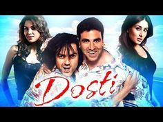 Dosti: Friends Forever | Full Hindi Movie | Akshay Kumar, Bobby Deol, Kareena Kapoor | HD | Karan (Bobby Deol) was wealthy and a mansion was his habitat. Raj (Akshay Kumar) had empty pockets and the sky was his roof. Karan's jet ensured that he could fly if he wanted. Raj could only depend on his two feet. Karan had a family and yet craved love. Raj had love to share, but craved... | http://masalamoviez.com/dosti-friends-forever-full-hindi-movie-akshay-kumar-bobby-deol-
