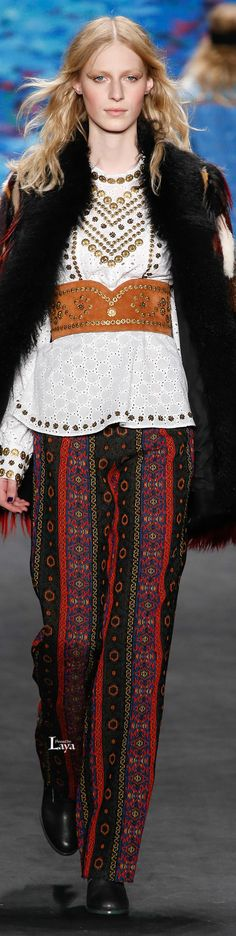 Anna Sui Fall Winter 2015-16 RTW